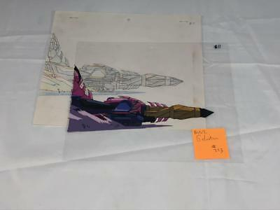 Transformers Japanese Beast Wars 2 Ii Galvatron Animation Art Cell Lot 293