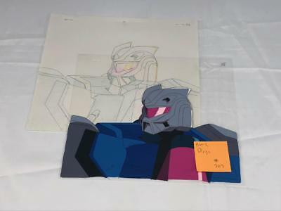 Transformers Japanese Beast Wars 2 Ii Dirge Animation Art Cell Lot 303
