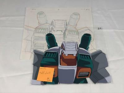Transformers Japanese Beast Wars 2 Ii Halfshell Animation Art Cell Lot 306