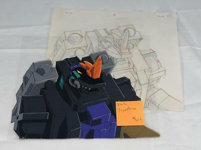 Transformers Japanese Beast Wars 2 Ii Gigastorm Animation Art Cell Lot 322