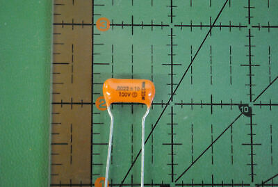 SPRAGUE CAPACITOR Orange Drop .0022uf 100v 10% 225P22291WD3 .0022mfd AUDIO 4 pcs