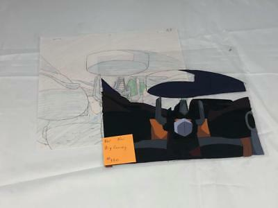 Transformers Japanese Beast Wars 2 Neo Big Convoy Animation Art Cell Lot 330