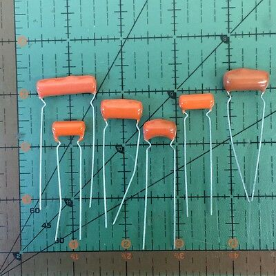 SPRAGUE ORANGE DROP CAPACITOR .0039uF 600v 6PS-D39 3900pF AUDIO GUITAR Free Ship