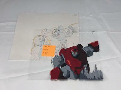 Transformers Japanese Beast Wars Neo Bump Animation Art Cell Lot 364