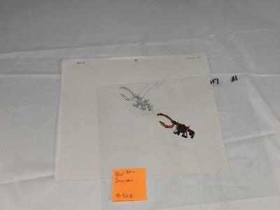 Transformers Japanese Beast Wars Neo Drancron Animation Art Cell Lot 368