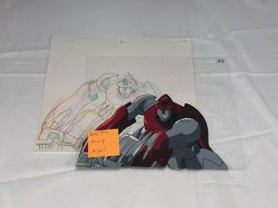 Transformers Japanese Beast Wars Neo Bump Animation Art Cell Lot 365