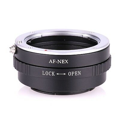 Camera Lens Adapter AF-NEX for Sony Minolta AF MA Mount to Sony A7R A6100 NEX-6