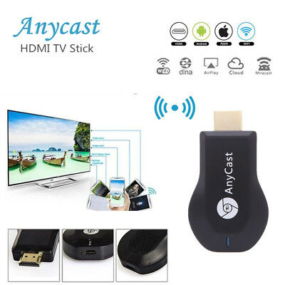 AnyCast M4/M9 Plus Display Dongle Receiver 1080P HDMI TV DLNA Airplay Miracast