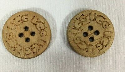 UGG 2 Pack Buttons for UGG  Boots  Leather Sheepskin Buttons Tall Short #3
