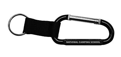 Boy Scout Cub Girl Bsa Official National Camping School Carabiner Keyholder New