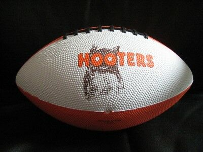 Hooters Football Orange & White  Owl Logo  Black Laces Sealed In Factory Plastic