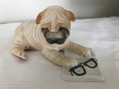 Shar-Pei 1987 he Franklin Mint Figurine