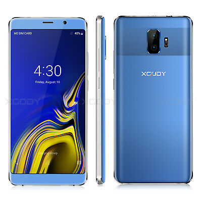 """6"""" INCH Unlocked 3G Quad Core 2SIM XOGDY For AT&T Android Cell Phone Smart phone"""