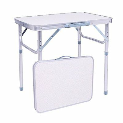 Rapesee Folding Aluminum Table Outdoor Picnic Camping Table 4 Person Portable x