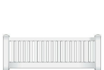 PVC Wren Picket Fence Panel White 0.9m Height 100% AUS by Think Fencing
