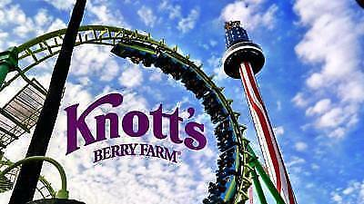 Knotts Berry Farm ticket- General Admission / no expiration date.