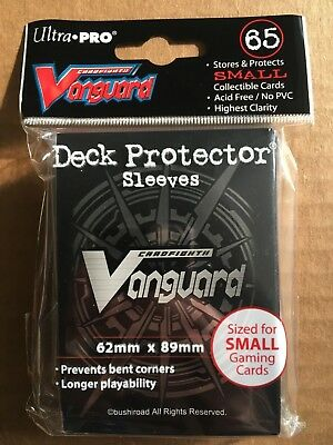 Ultra Pro Cardfight Vanguard Deck Protector Trading Card Sleeves Small Fit 65