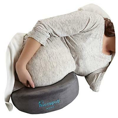 hiccapop Pregnancy Pillow Wedge for Maternity | Memory Foam Maternity Pillows