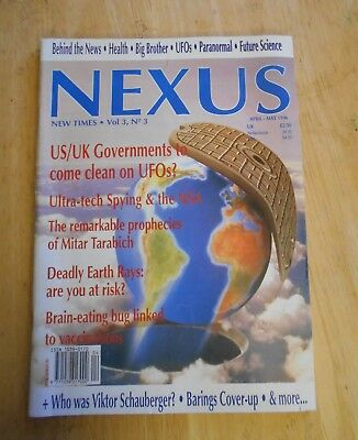 Nexus Magazine Back Issue April/May 1996