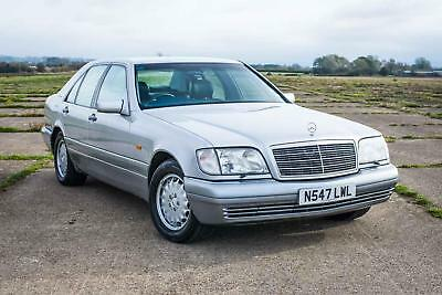 1996 Mercedes-Benz W140 S500 - 46K Miles / FSH / Exceptional Condition