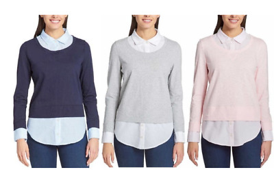 NEW!! Tommy Hilfiger Women's 2fer Blouses Variety