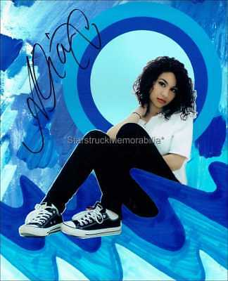Alessia Cara Autograph *Know-It-All, Four Pink Walls* Hand Signed 10X8 Photo