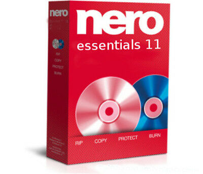 Nero Essentials 11 Complete DVD/CD Burn Suite Copy Backup Burn Not 10 9 Latest