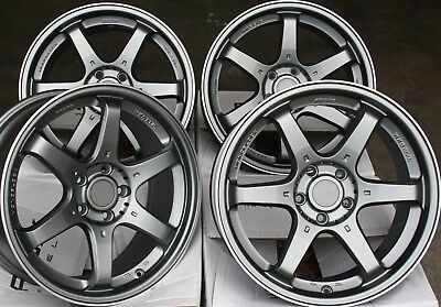 "Roues Alliage X 4 15 "" GM Ms006 pour Audi 80 90 100 Ford Mazda 121 2 Volvo 4x108"