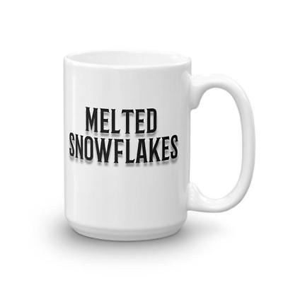 Melted Snowflakes Coffee Mug. Offend a Liberal! Buy This Mug Today!