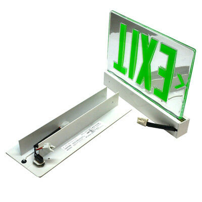 Lithonia LRP W 2 GMR 120/277 EL N PNL Precise Collection LED Edge-Lit Exit Sign