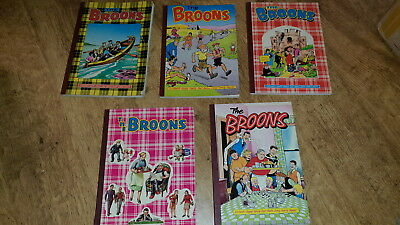 Collection Of The Broons  Annuals X 5 (1973,1983,1985,1987,1991,)