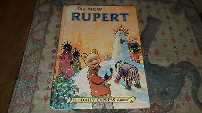 1954 The NEW RUPERT The Daily Express Annual / UNCLIPPED