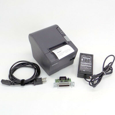 Epson TM-T88V M244A Serial USB Receipt Printer w/ UB-P02II Parallel Intfc Card