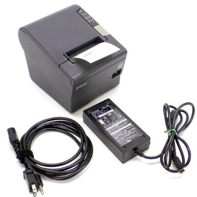 Epson TM-T88V M244A Receipt Printer w/ USB & Parallel Connections, Low Use