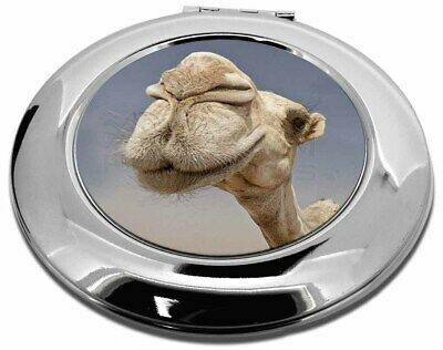 Camels Intrigued by Camera Make-Up Round Compact Mirror Christmas Gift, CAM-1CMR