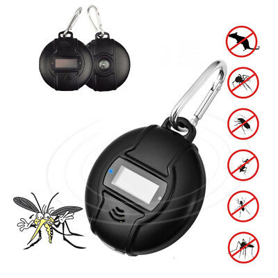 Outdoor Chargable Solar Ultrasound Mosquito Repellent Pest Insect Repellents