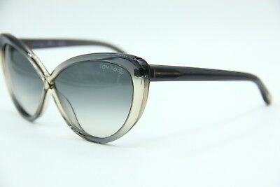 527c8f4ee748 TOM FORD SUNGLASSES Madison TF253 52F Havana/Gradient Brown ...