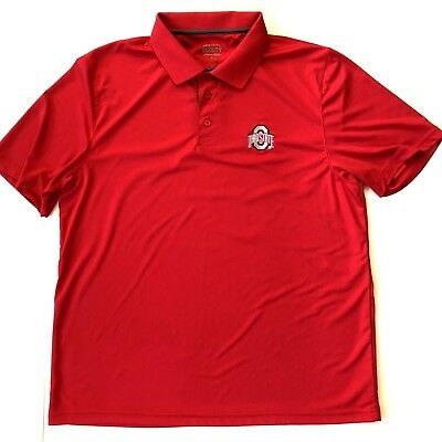 Ohio State Varsity Mens XL Polo Shirt Football Basketball Sports College NCAA