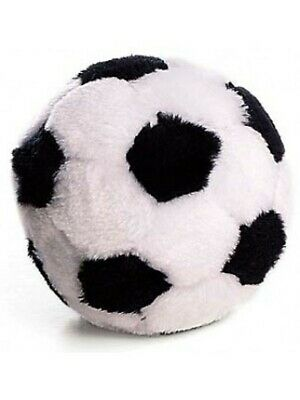 Ethical Pet Spot Plush Soccer Ball 4.5 inch   Sport Style Dog Toy with Squeaker