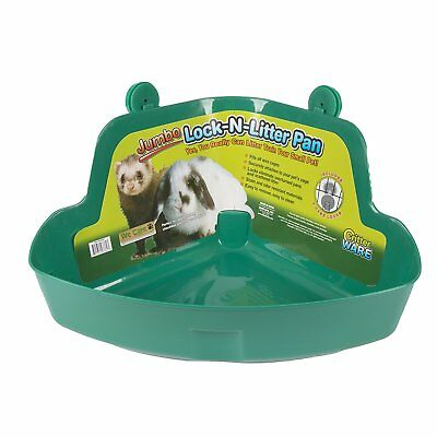 Ware Manufacturing Plastic Pet Lock N Litter Pan and Cage Locks Jumbo Assorted