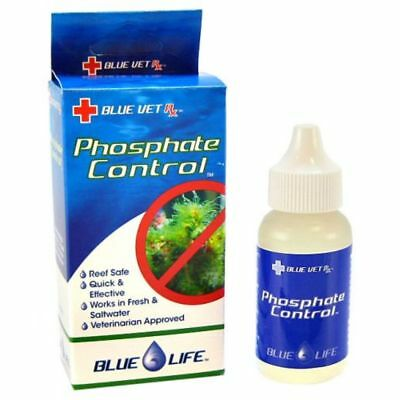 Blue Life Phosphate Rx 1 oz | Phosphate Remover for Fish Aquariums