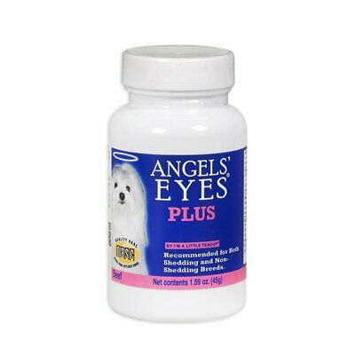 Angels' Eyes Plus Beef Formula 45 gram | Natural Tear Stain Remover for Dogs