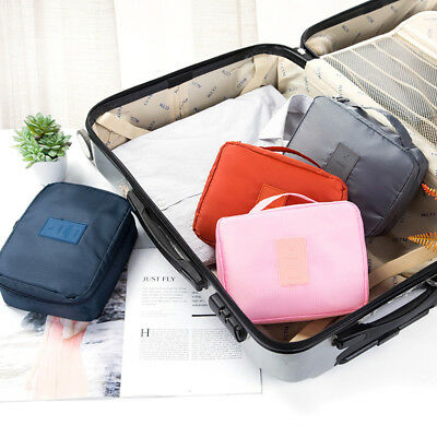 Waterproof Travel Clothes Storage Bags Luggage Organizer Pouch Packing Cube NJH