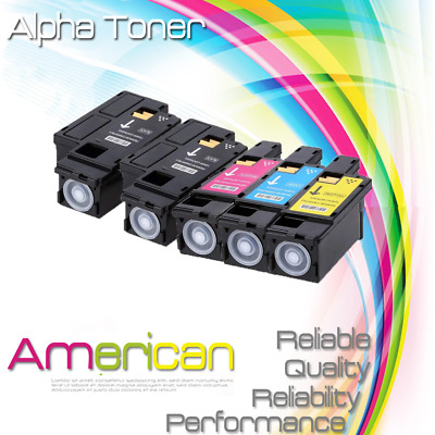3Pk Color CMY Toner Cartridge for Xerox WorkCentre Phaser 6020 6022 6027 6025