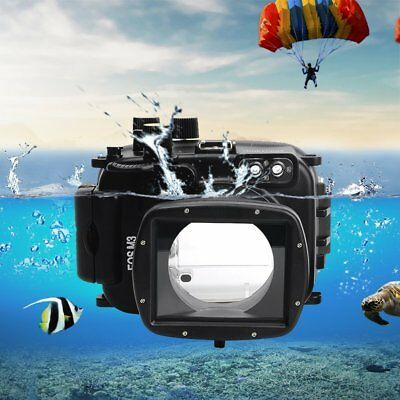 Meikon 40m Waterproof Case Underwater Camera Diving Housing for Canon EOS-M3 AU