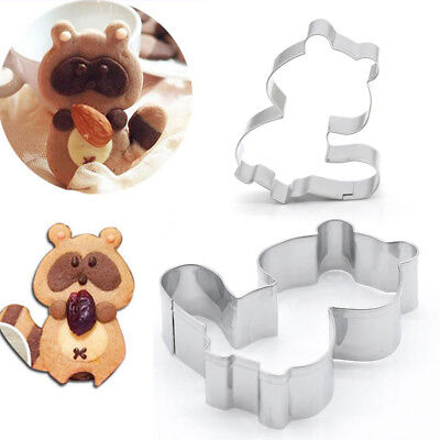 Pastry Dinosaur Footprint Cookie Cutter set of 2 Fondant Cutter Biscuit