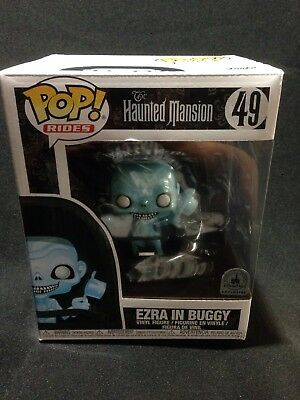 Funko Pop! Rides Ezra In Buggy  Haunted Mansion Disney Parks Exclusive Ghost #49