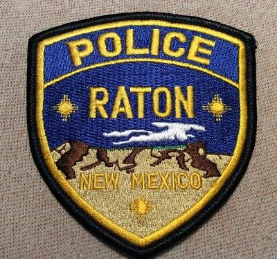 NM Raton New Mexico Police Patch