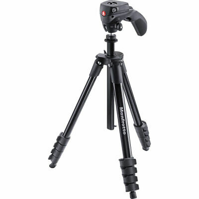 Manfrotto Compact Action Black Tripod