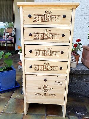 Upcycling Kommode Weinregal Aus Alten Weinkisten